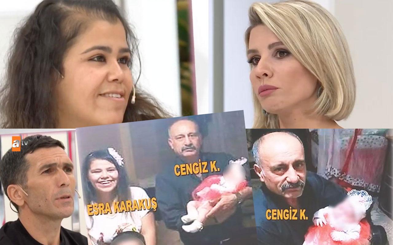 Esra Erol'daki kadın için şok gelişme! Bebeğin babası komşu Cengiz de dövüldü