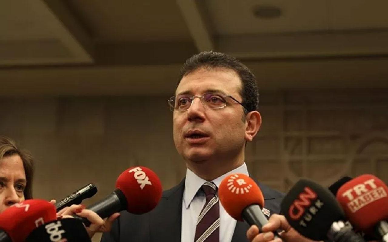 İBB Başkanı Ekrem İmamoğlu, Kanal İstanbul ile ilgili ifade verdi