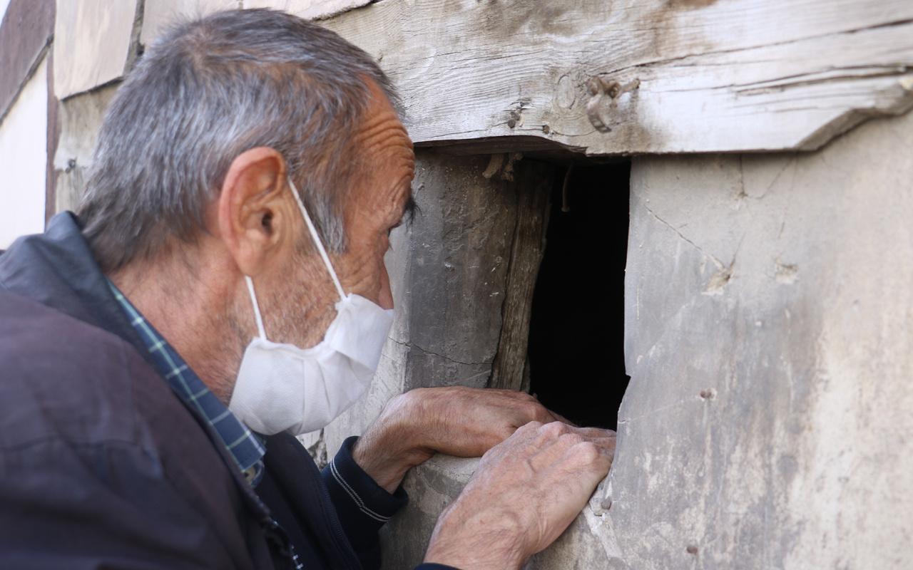 Sokaktan geçen kafasını çeviriyor Sivas'ta 2 metre enindeki ev merak konusu oldu