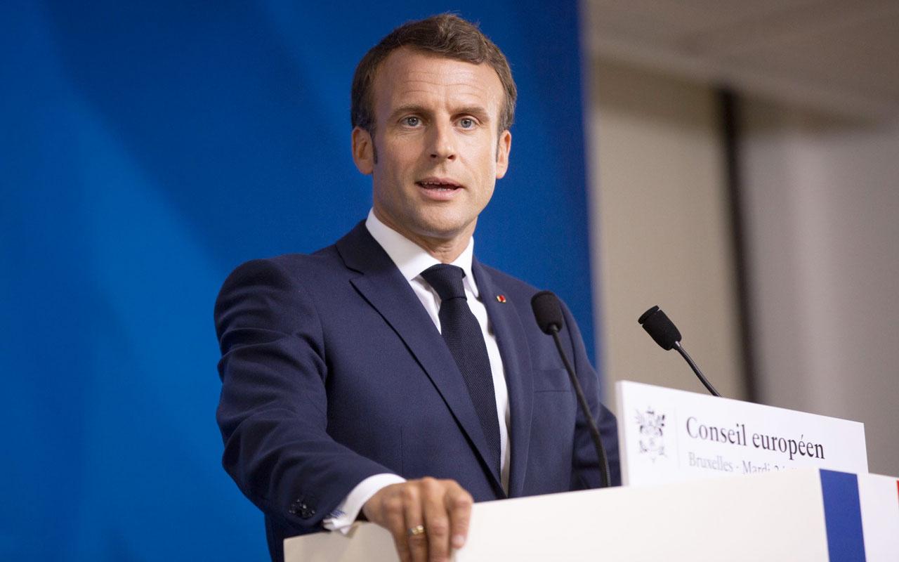 Son dakika Macron'dan Türkiye'ye Dağlık Karabağ tepkisi Ermenistan için endişeliyim