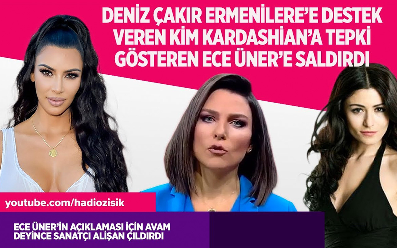 Deniz Çakır Kim Kardashian için Ece Üner'e neden saldırdı?