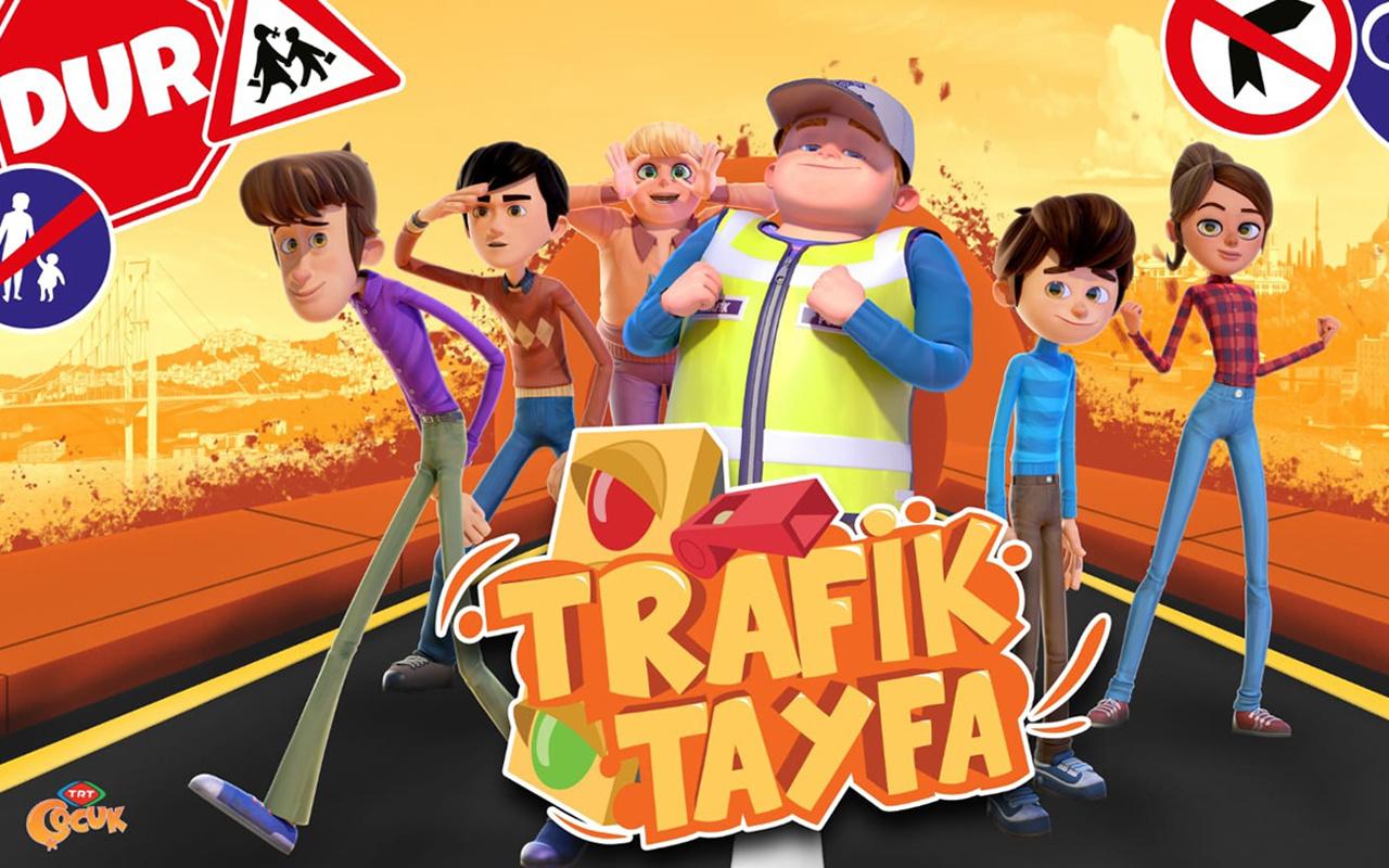 """""""Trafik Tayfa"""" Kuralları Öğretmeye Geliyor"""