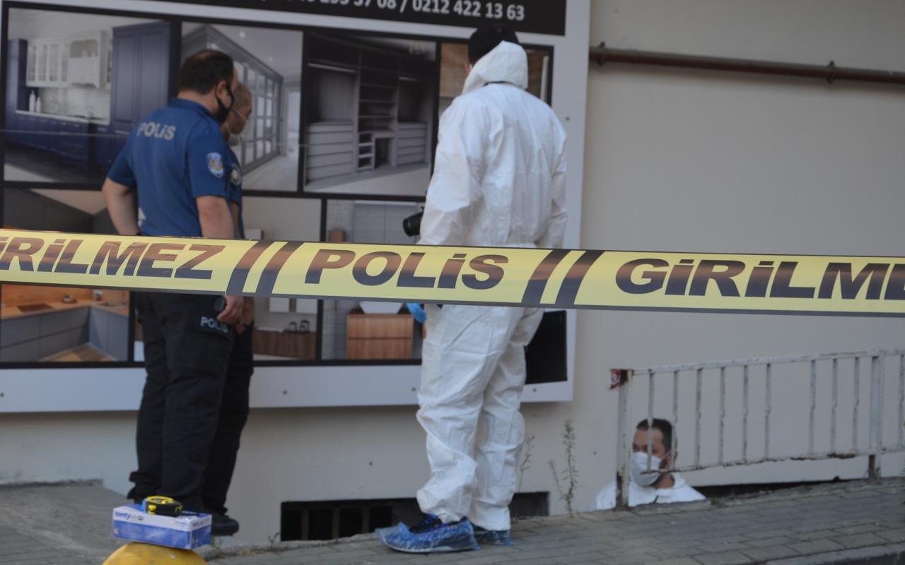 Avcılar'da dehşet! İş yerinin önünde zincirle asılı halde ölü bulundu