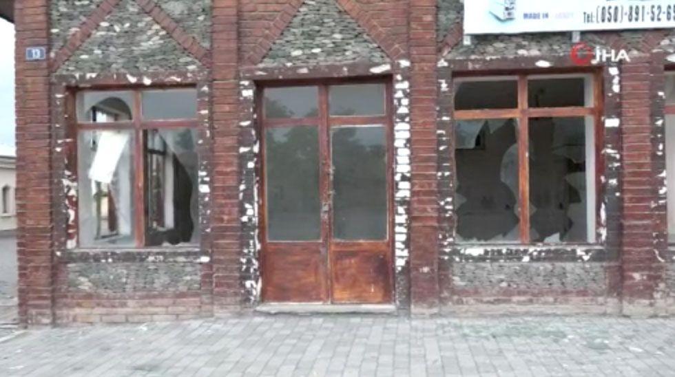 Ermenistan tren istasyonunu vurdu! Bomba Ermenistan iddiası Azerbaycan'dan ültimatom