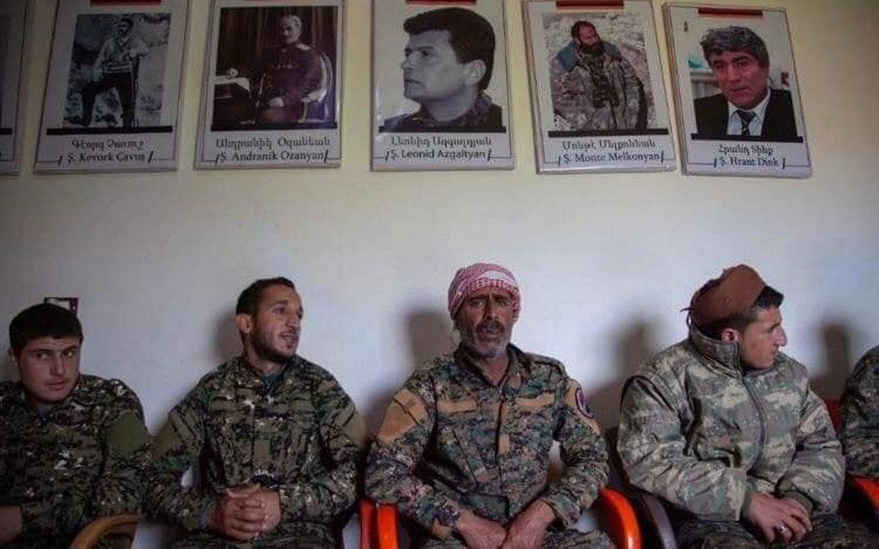 İşgal altındaki Karabağ'da Ermenistan-PKK/YPG işbirliği! Olay görüntüler sızdı