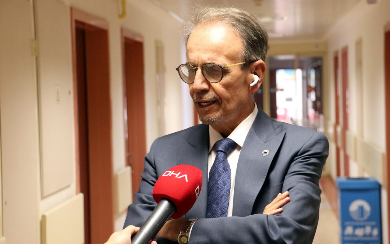 Prof. Dr. Mehmet Ceyhan, koronavirüs aşısının saklanacağı dolapları gösterdi