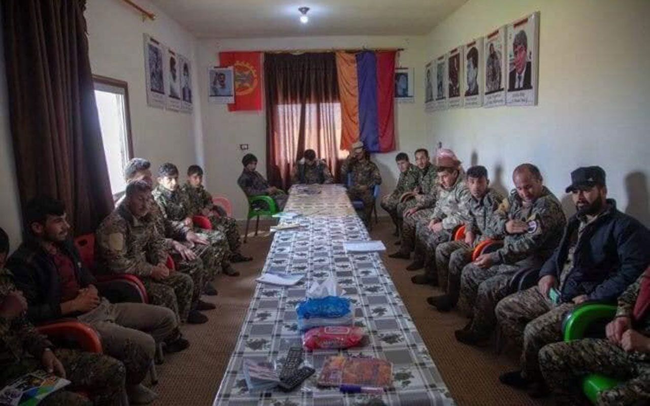 Dağlık Karabağ'da Ermenistan ile PKK/YPG işbirliğinin fotoğrafları ortaya çıktı
