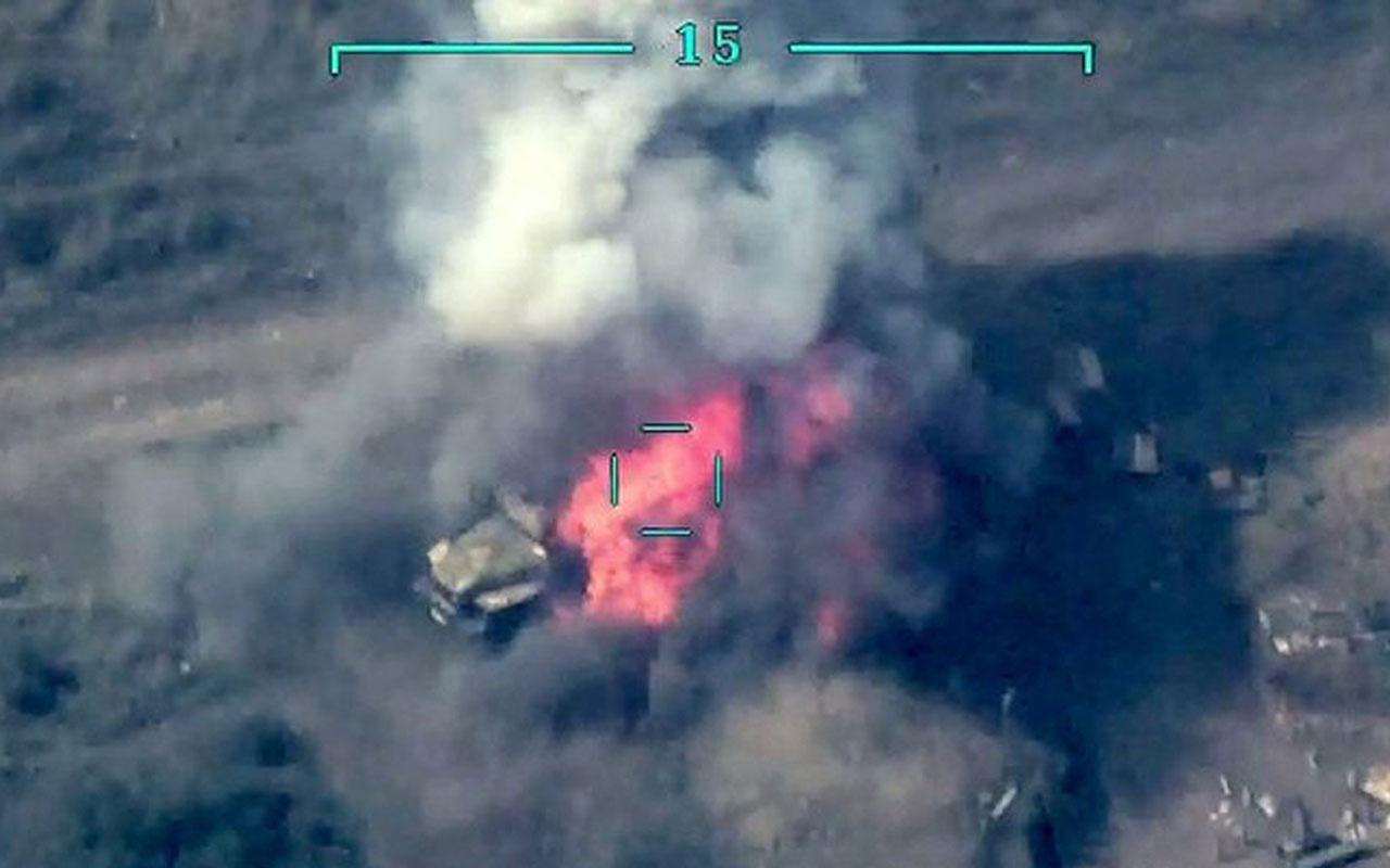 Azerbaycan yoğun bombardıman başlattı