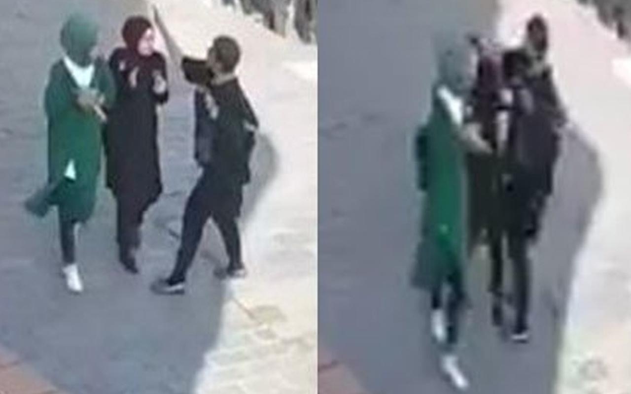 Karaköy'de başörtülü öğrencilere saldıran kadının 11 yıl 9 ay hapsi istendi