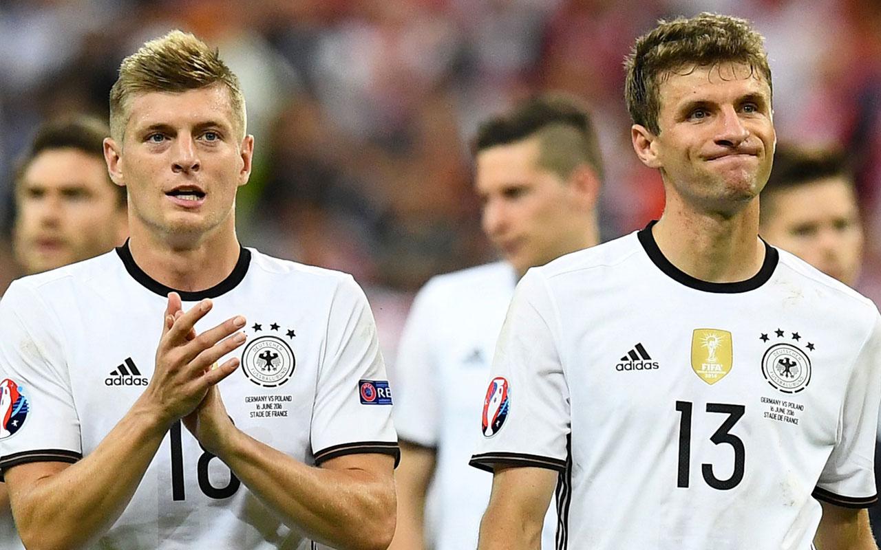 Almanya'nın Türkiye maçı aday kadrosu açıklandı