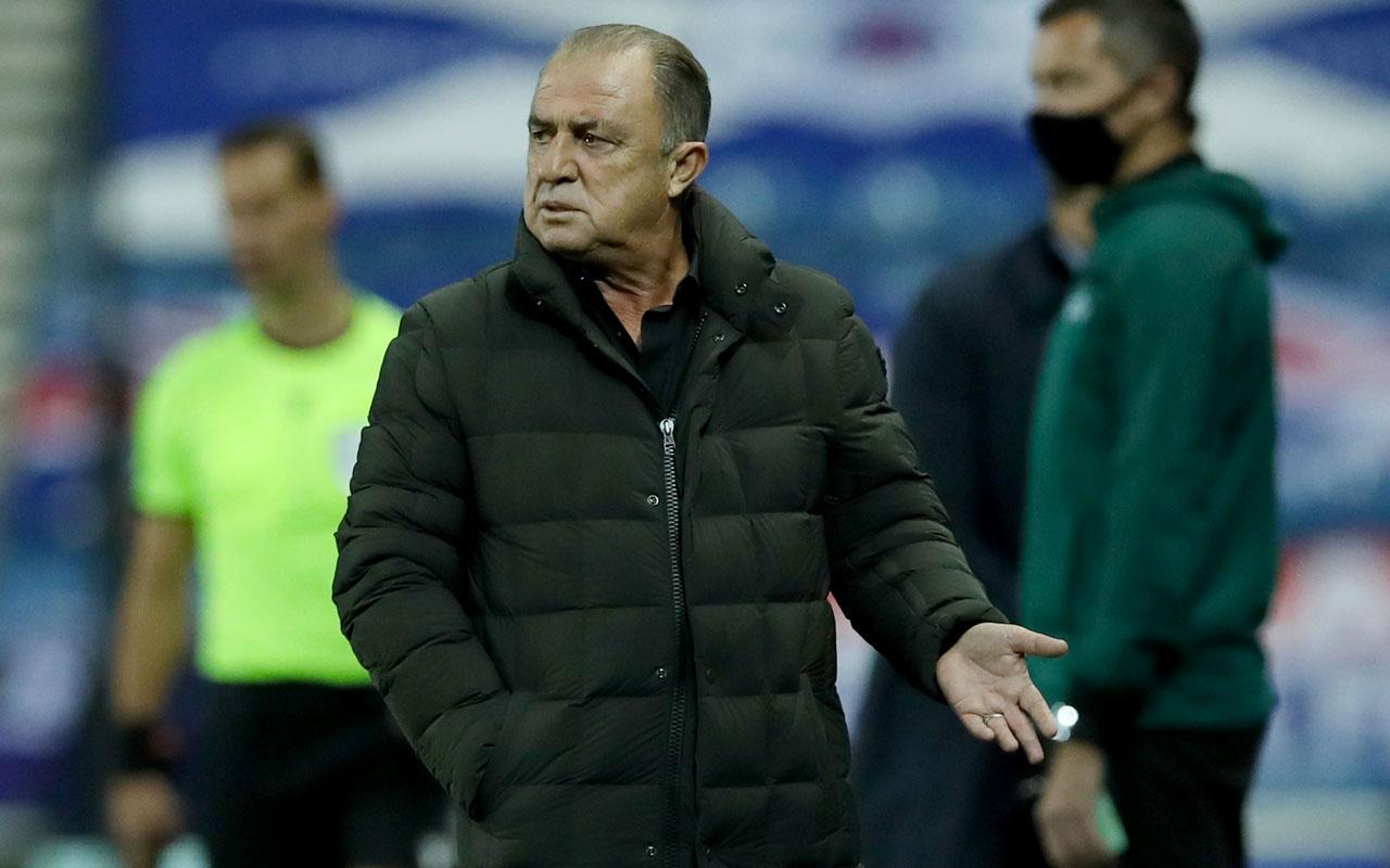 Galatasaray'da Fatih Terim kırmızı kart gördü ortalık karıştı