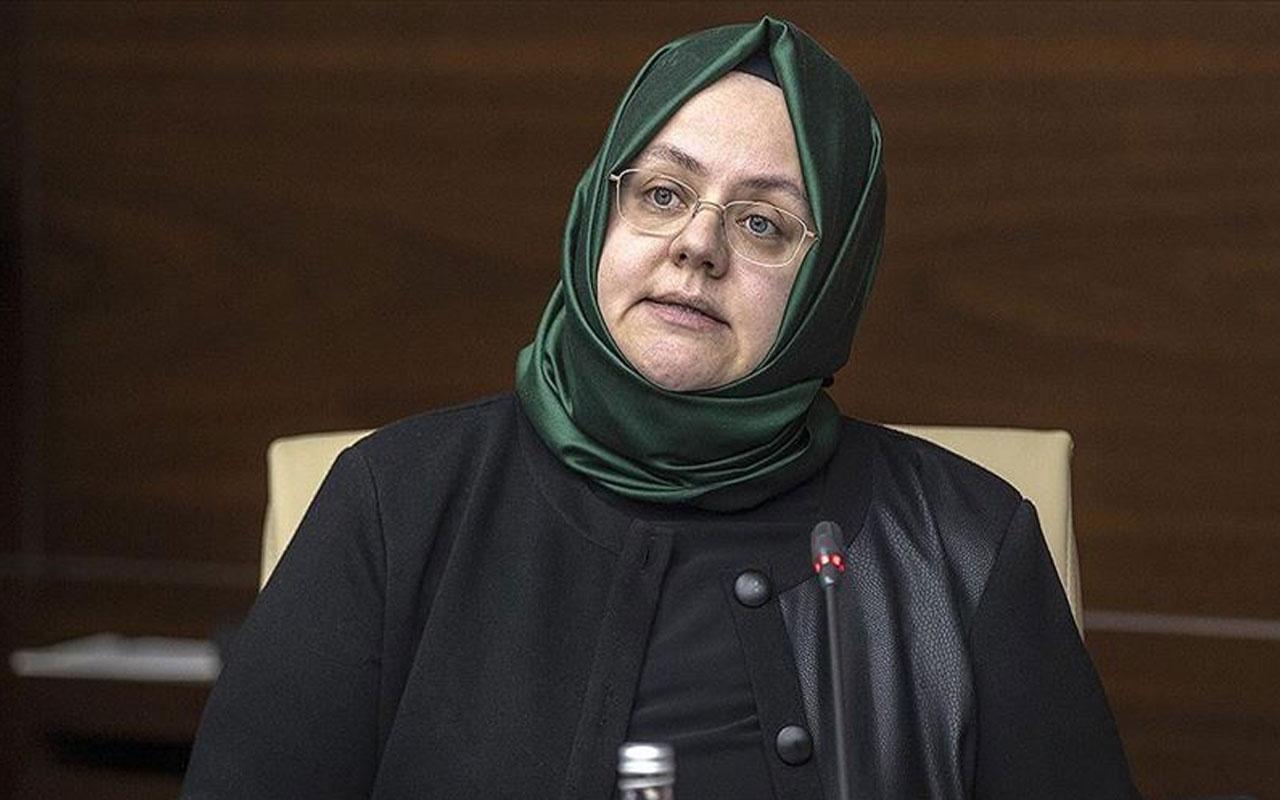 Aile, Çalışma ve Sosyal Hizmetler Bakanı Zehra Zümrüt Selçuk Özgecan Aslan'ı andı