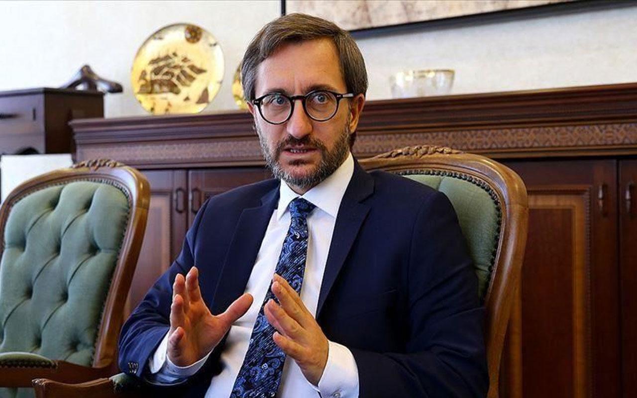 İletişim Başkanı Fahrettin Altun'dan 'Cemal Kaşıkçı' açıklaması