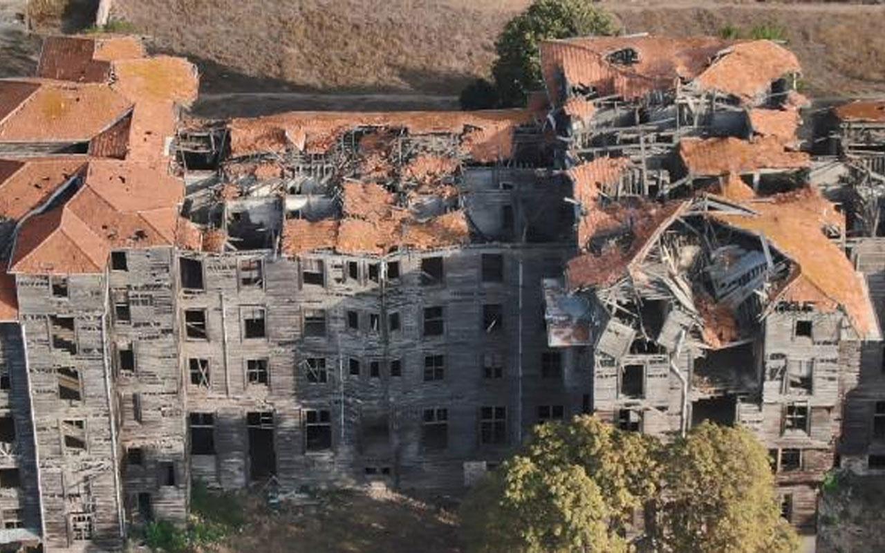 Her an yıkılabilir! Büyükada Rum Yetimhanesi'nin restorasyonu için ilk adım atıldı