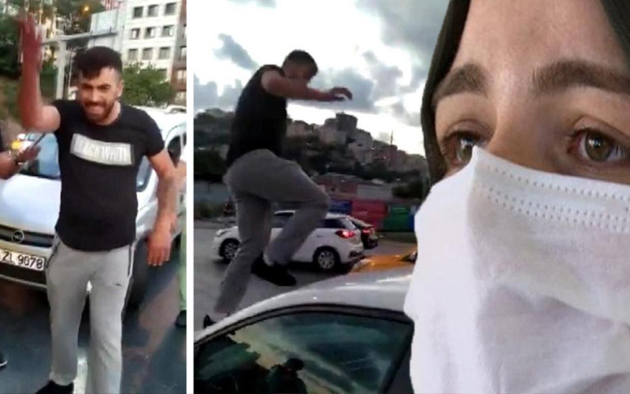 Trafikte tartıştığı Sena Koçak'a dehşeti yaşatmıştı! Emre Etyemez ilk duruşmada tahliye edildi