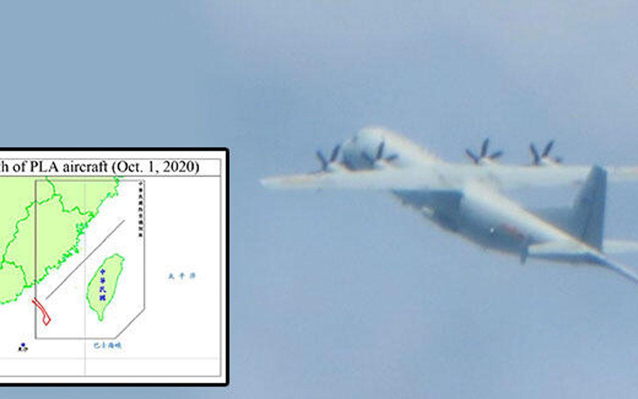 Çin-Tayvan arasında gerginlik! Jetler havalandı