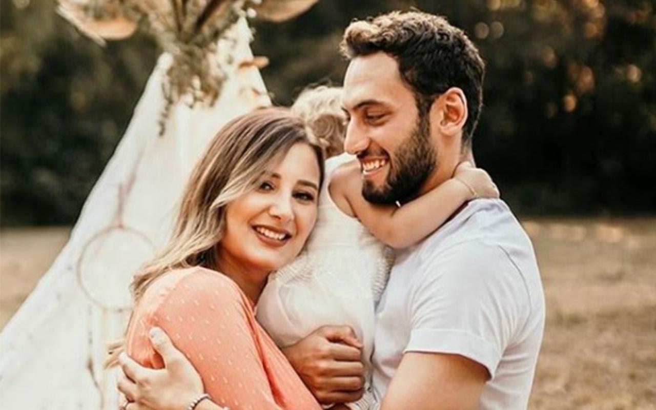 Hakan Çalhanoğlu ve Sinem Çalhanoğlu çiftinden müjdeli haber geldi