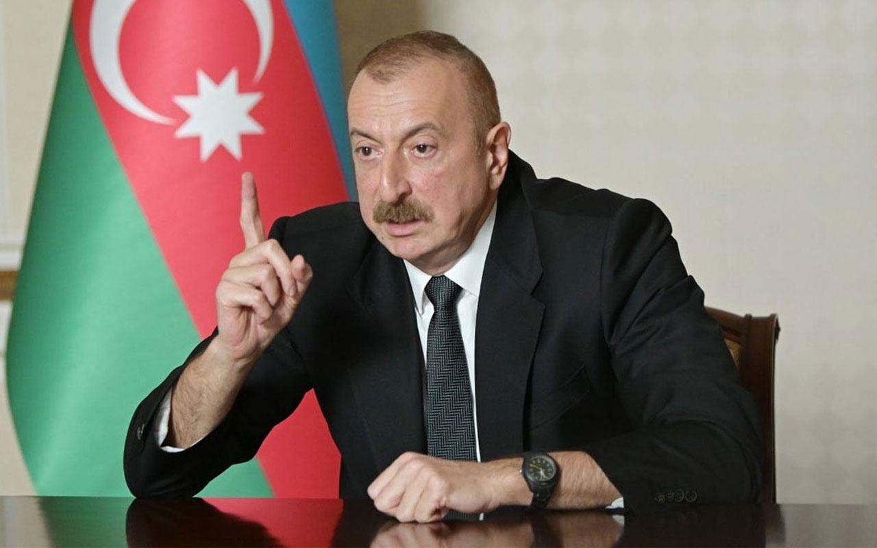 İlham Aliyev'den olay Ermenistan açıklaması: Paşinyan fare gibi saklanıyor