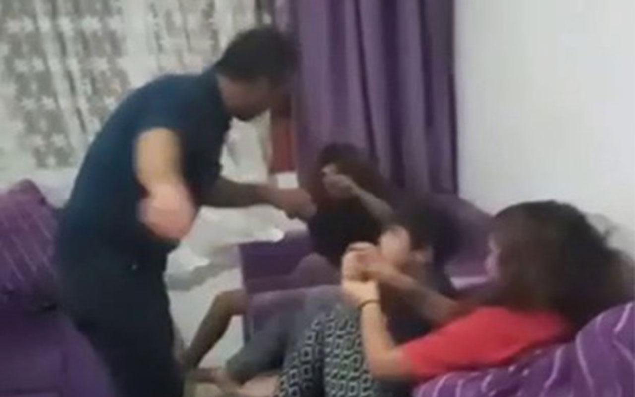 Mersin'de cani baba dehşeti! Sosyal medyada canlı yayın başlatıp çocuklarını dövdü