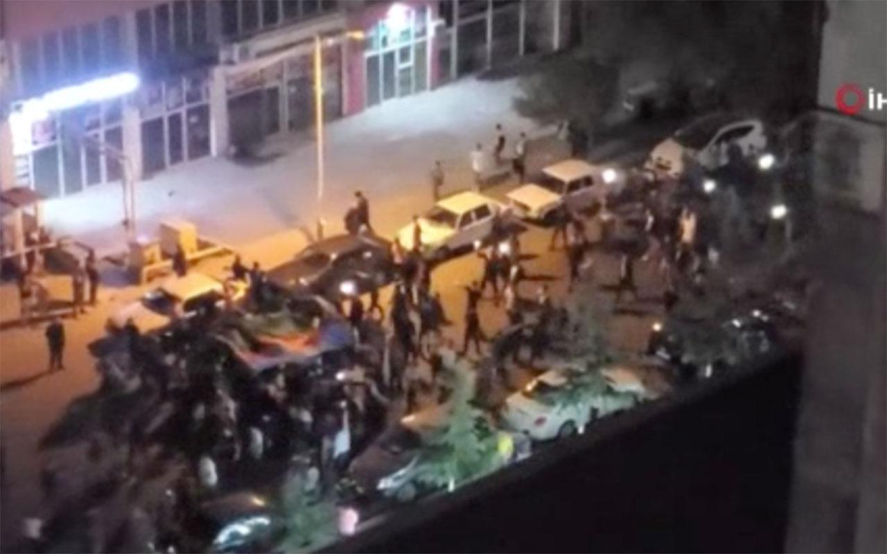 Azerbaycan askerleri Magadiz'i kurtardı, halk sokaklarda kutlama yaptı
