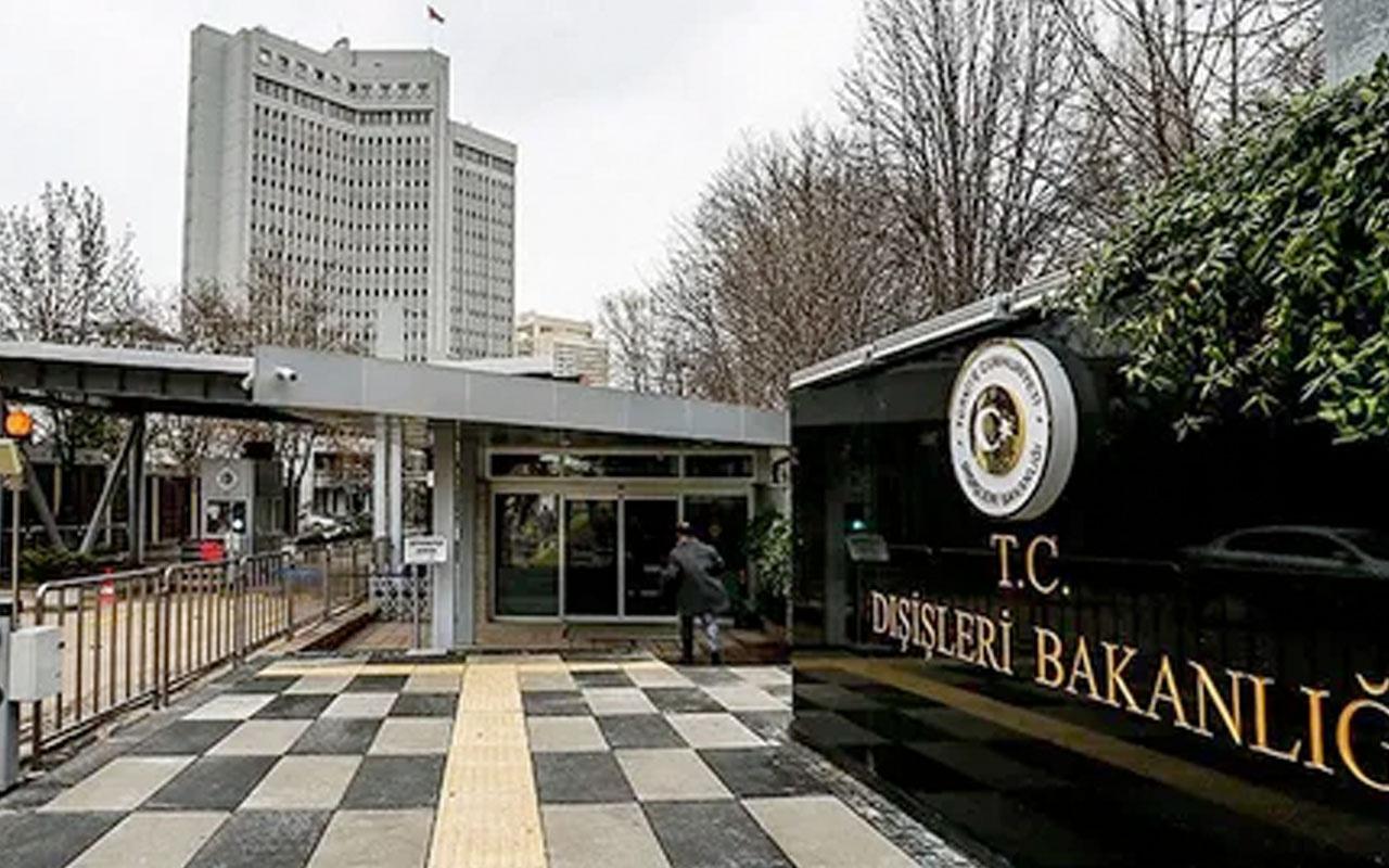 Dışişleri Bakanlığından Avrupa Komisyonu'nun Türkiye raporuna sert tepki