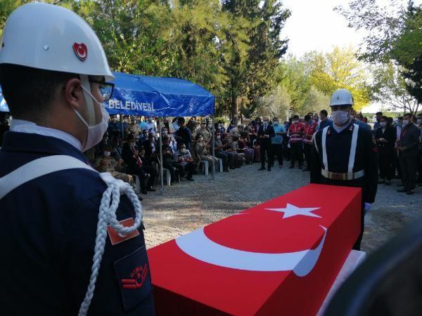 Ağrı'da şehit düşen Uzman Çavuş Hüseyin Yırtıcı Hatay'da ebediyete uğurlandı