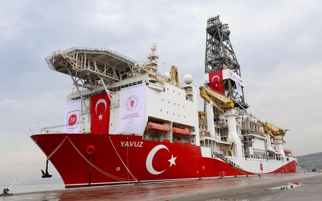 Yavuz gemisi çalışmalarını tamamlayarak limana döndü! Enerji Bakanlığı açıkladı