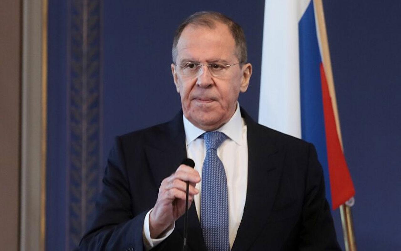 Rusya Dışişleri Bakanı Lavrov'dan Türkiye mesajı