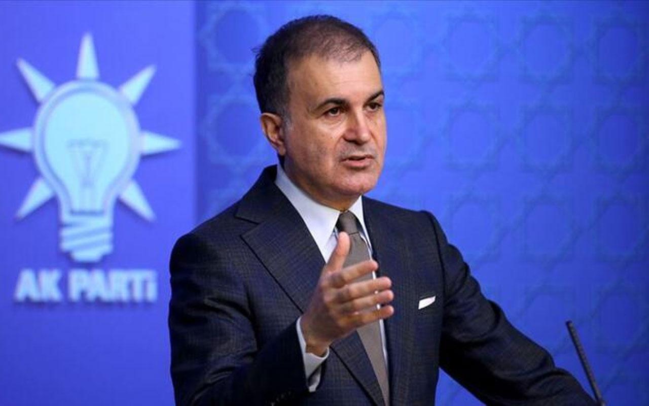 AK Parti Sözcüsü Ömer Çelik'ten Macron'a çok sert yanıt! 'İslam' sözleri tepki toplamıştı