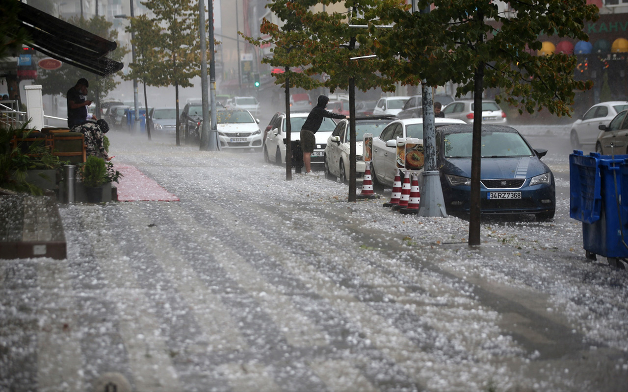 İstanbul'u perşembe günü dolu vuracak! Meteoroloji yarın için önlem alın diyor