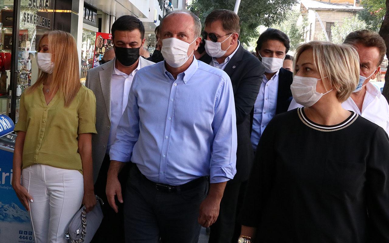 Muharrem İnce'den CHP'ye ağır gönderme! Karşılamayı geleni cezalandırmasınlar diye...
