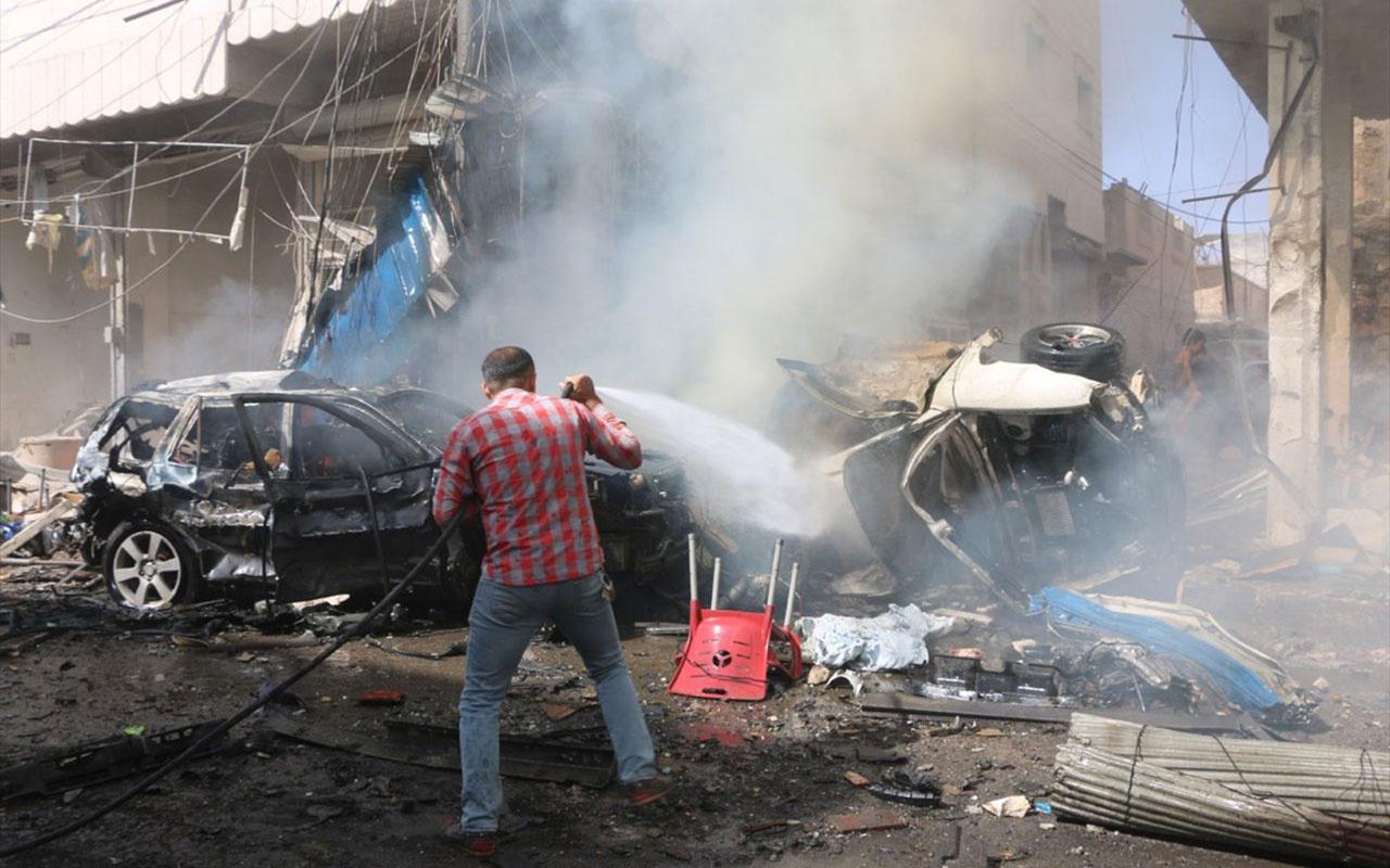 Suriye'nin kuzeyindeki Bab ilçesinde bombalı terör saldırısı! 7 ölü onlarca yaralı...
