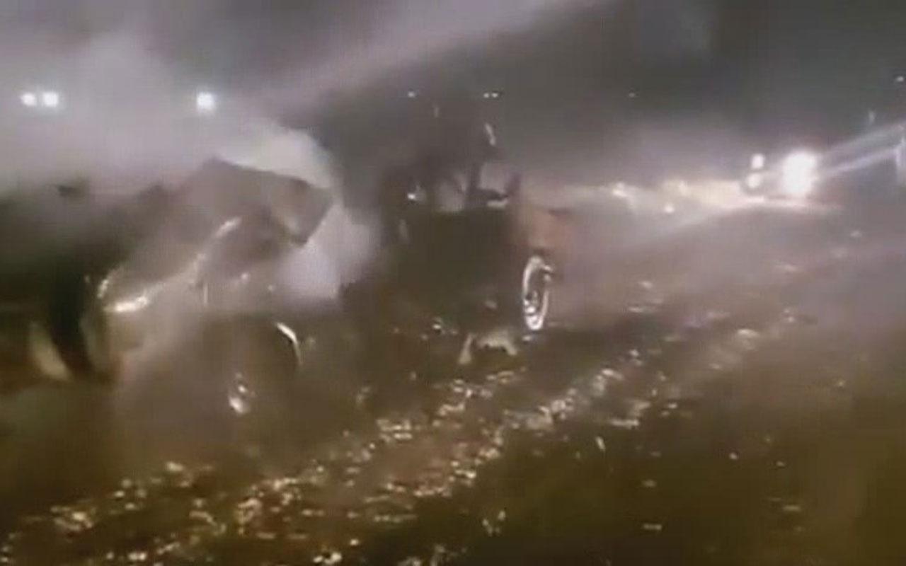 Afrin'de PKK/YPG'li teröristler bombalı araçla saldırdı: 4 yaralı