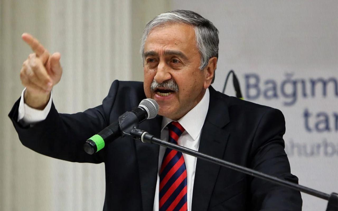 KKTC Cumhurbaşkanı Mustafa Akıncı'nın Kapalı Maraş rahatsızlığı