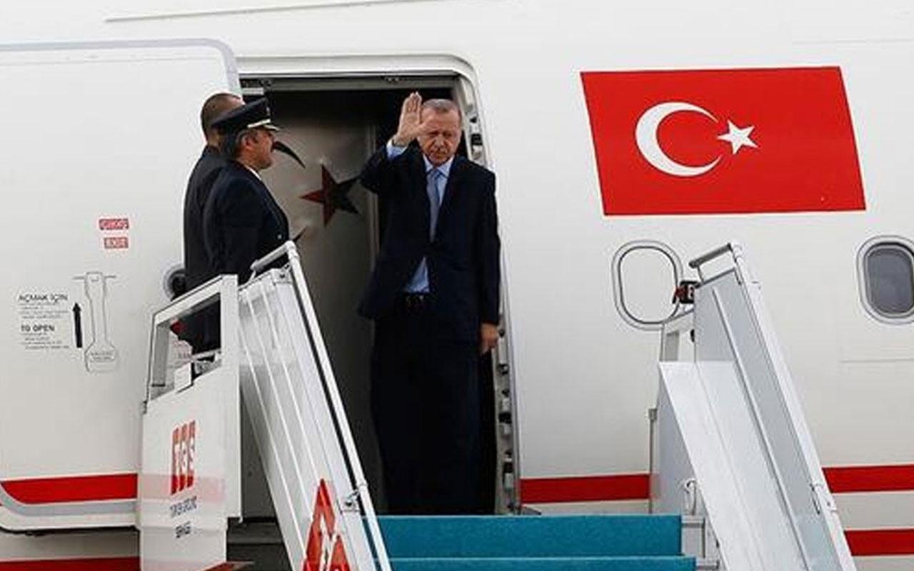 Erdoğan'dan 3 ay sonra ilk yurt dışı ziyareti!