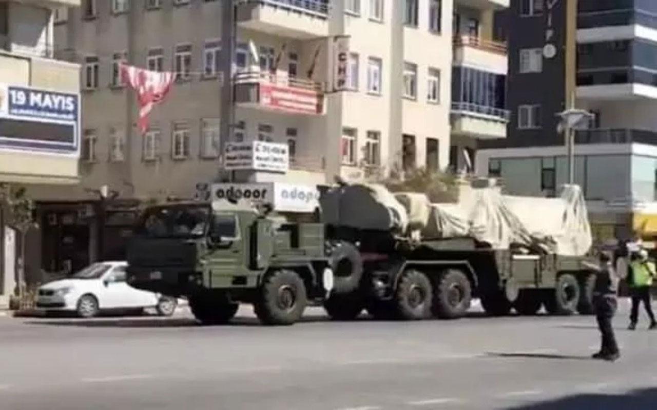 S-400'ler test atışı için Sinop'a gönderildi! İşte o anlar