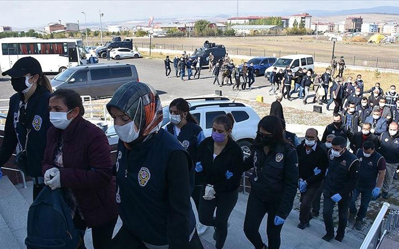 HDP'li isimler de var! Kars merkezli terör soruşturmasında 10 kişi adliyeye sevk edildi