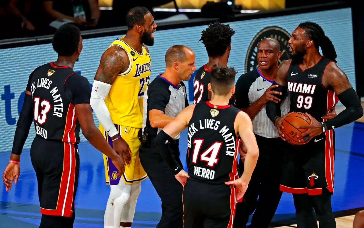 Lakers, Miami Heat'i farklı geçti şampiyonluğa bir adım kaldı