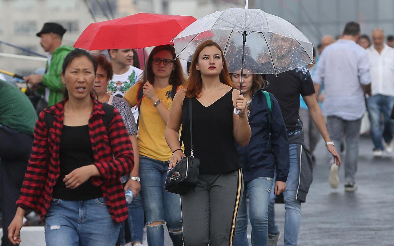 Meteoroloji'den yağış uyarısı: Balkanlardan geliyor gece yarısı başlayacak