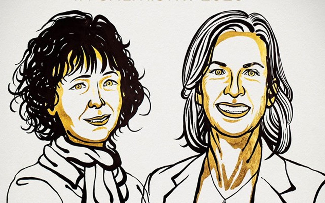 Nobel Kimya Ödülü Emmanuelle Charpentier ve Jennifer A. Doudna'a verildi