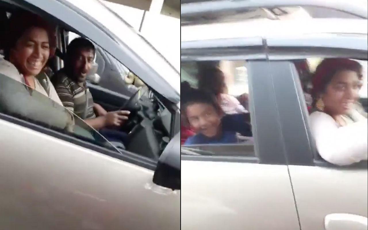 Az önce dilenen aileyi lüks arabalarında görünce çıldırdı! Utanmıyor musunuz siz