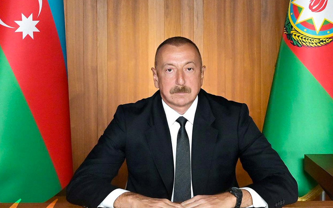 Azerbaycan Cumhurbaşkanı Aliyev'den Türk devletlerine önemli mektup