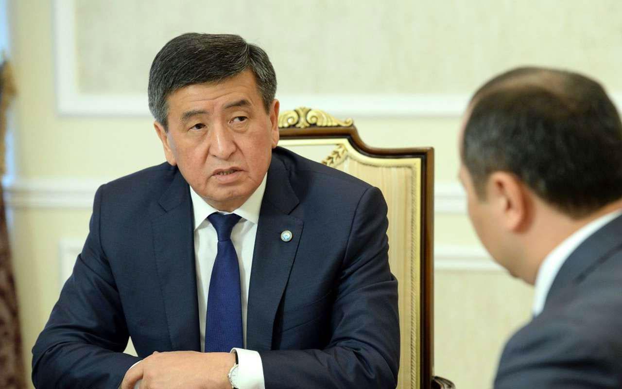 Kırgızistan Cumhurbaşkanı Ceenbekov'un istifası onaylandı olağanüstü hal ilan edildi