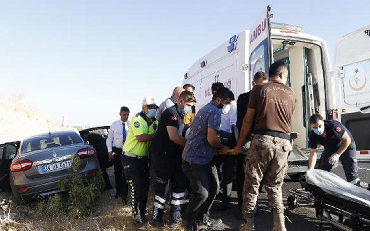 Ulaştırma ve Altyapı Bakanı Adil Karaismailoğlu'nun konvoyunda kaza!