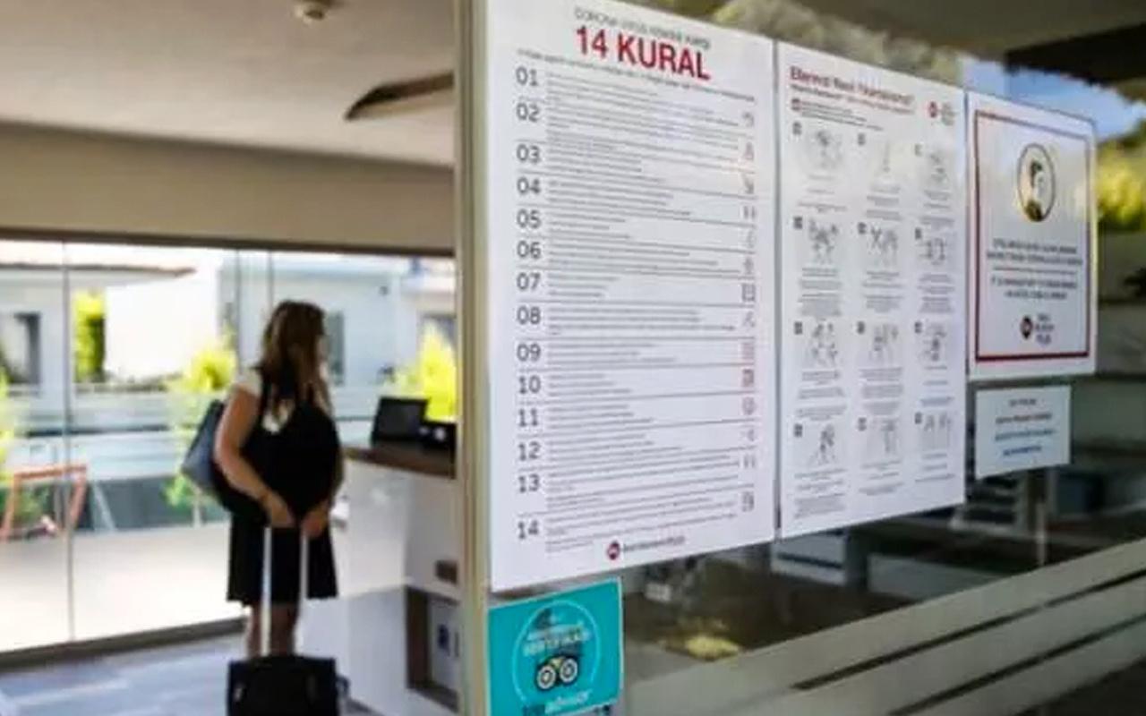 Kültür ve Turizm Bakanlığından otellerle ilgili yeni genelgesi! 50 odaydı 30 oda oldu