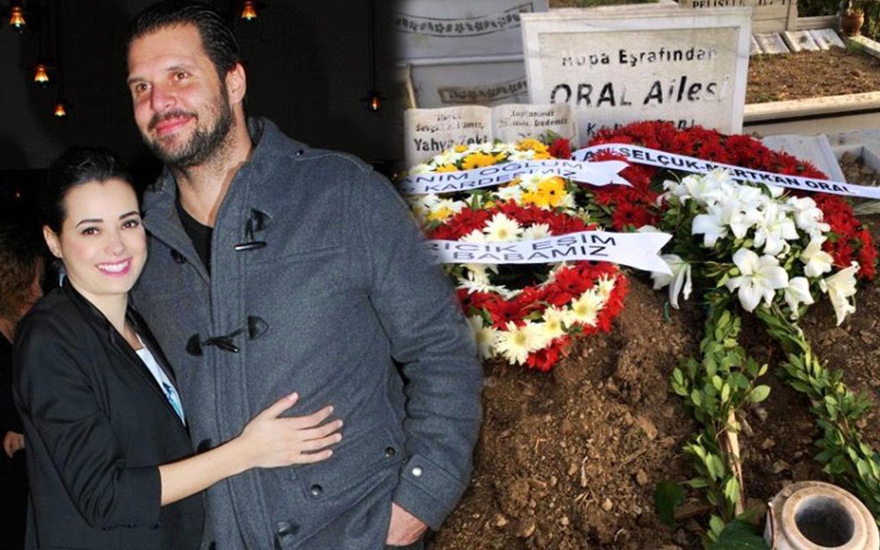 Özgü Namal eşi Serdar Oral'ın ölümünü çocuklarına söyleyemedi eve kapandı