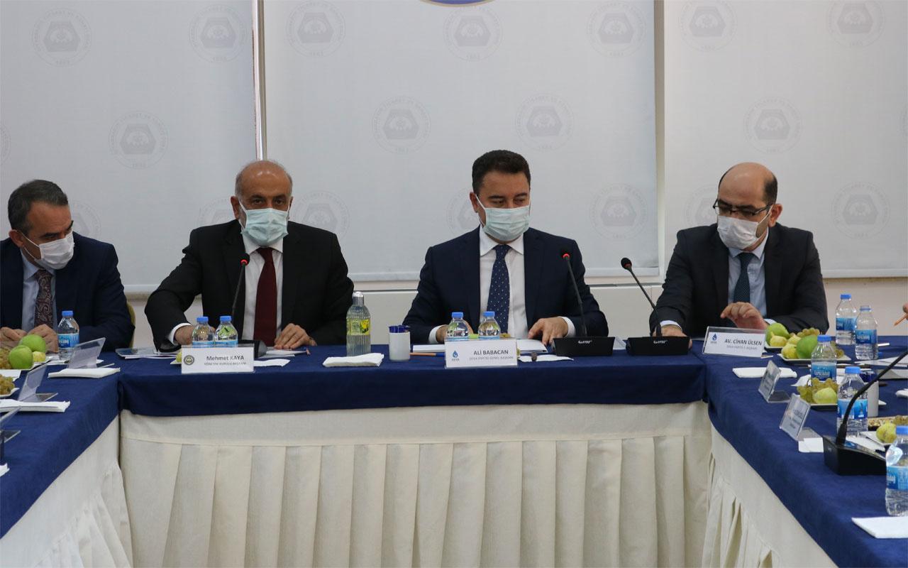 Babacan'dan HDP'lilere destek