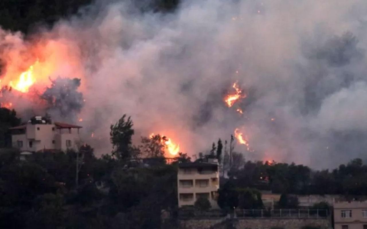 YPG/PKK, Hatay'daki orman yangınını propaganda çalışmasına çevirdi