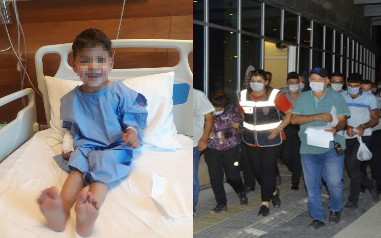 İstismarı doktorlar ortaya çıkarmıştı! Çorum'da 3 yaşındaki çocuk toprağa verildi