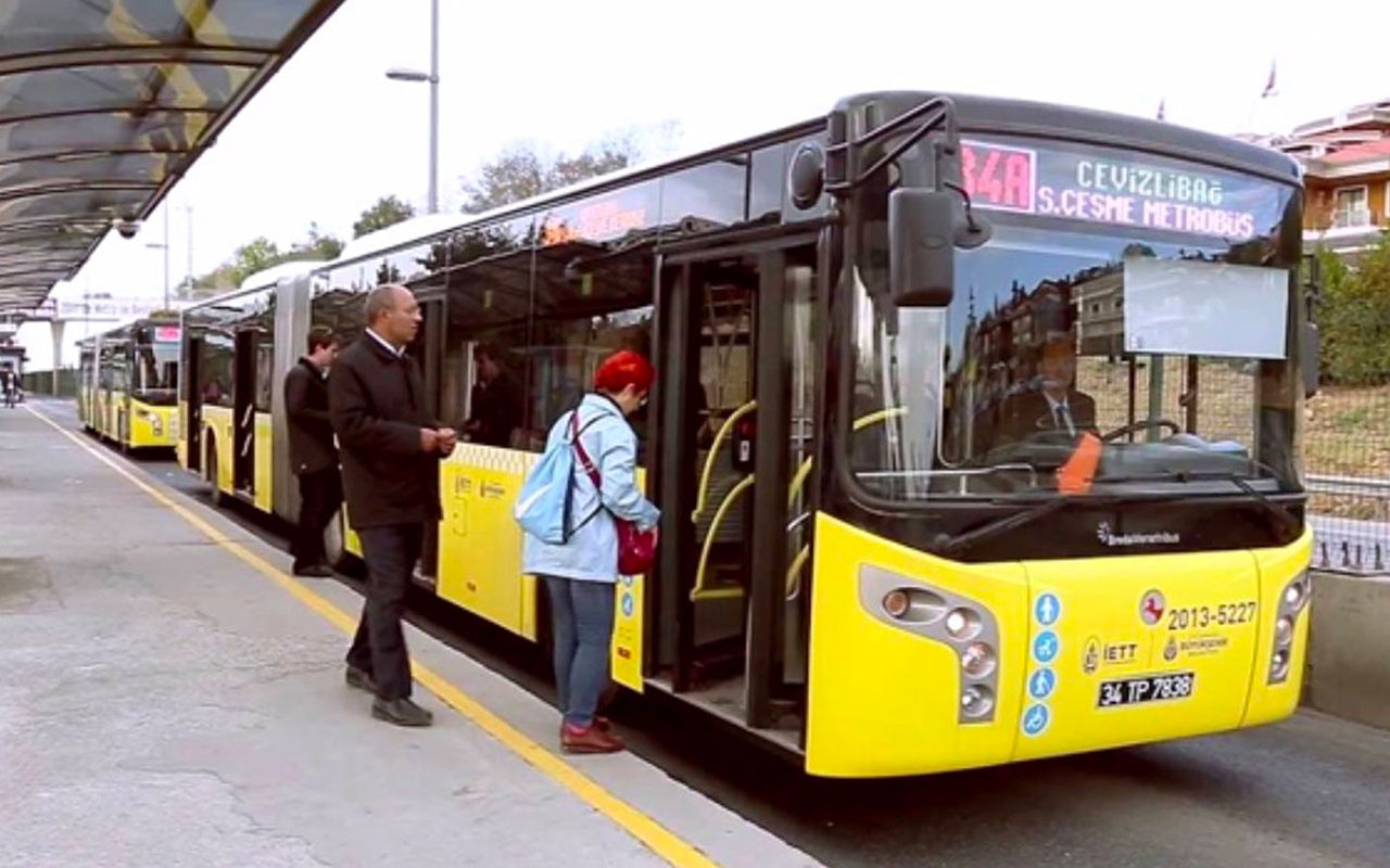 İstanbul'da toplu ulaşım yarın 8 saat ücretsiz olacak! Yüz yüze eğitim başlıyor
